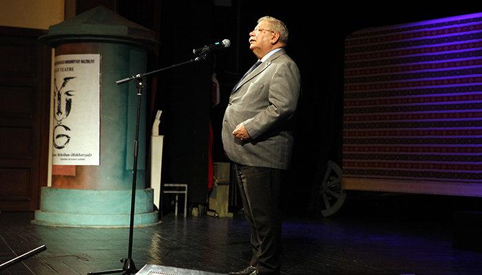 Yuğ Teatrının 30, Vaqif İbrahimoğlunun 70 illiyi qeyd olunub - FOTO, fotoşəkil-1