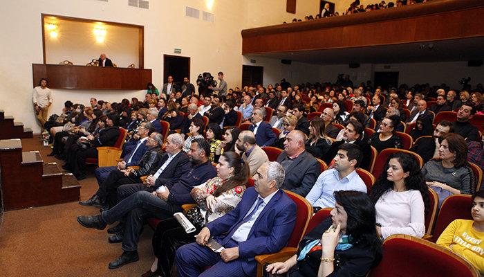 Yuğ Teatrının 30, Vaqif İbrahimoğlunun 70 illiyi qeyd olunub - FOTO, fotoşəkil-4