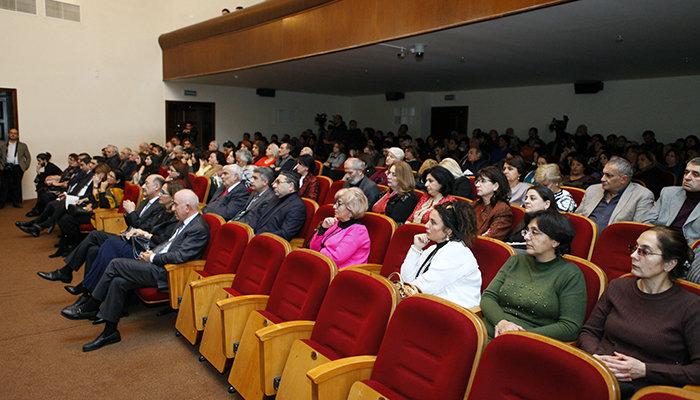 Yuğ Teatrının 30, Vaqif İbrahimoğlunun 70 illiyi qeyd olunub - FOTO, fotoşəkil-10