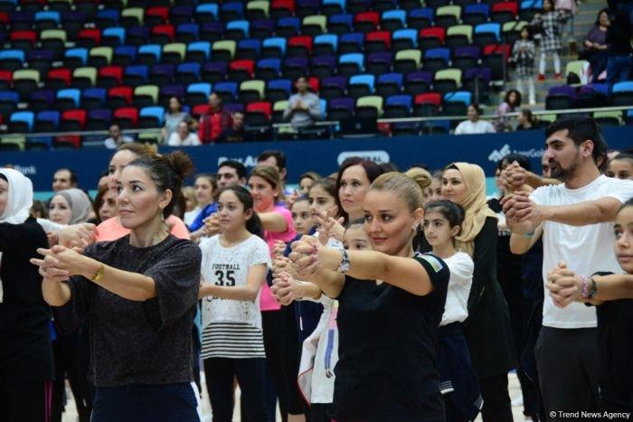 Bakıda Birinci estafet yarışları keçirilib - FOTO, fotoşəkil-11