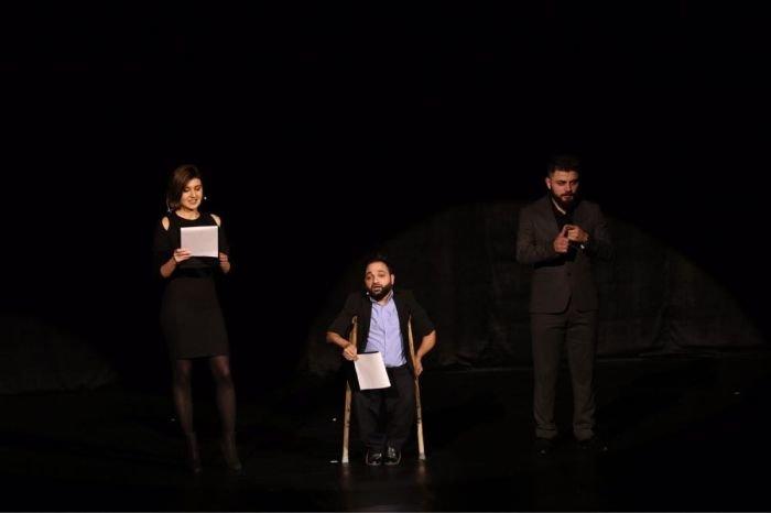 Bakıda əlilliyi olan sənətkarların iştirakı ilə rəqs və musiqi qala tədbiri keçirilib - FOTO, fotoşəkil-3
