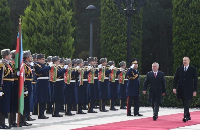 İordaniya Kralı Bakıda - FOTO, fotoşəkil-3