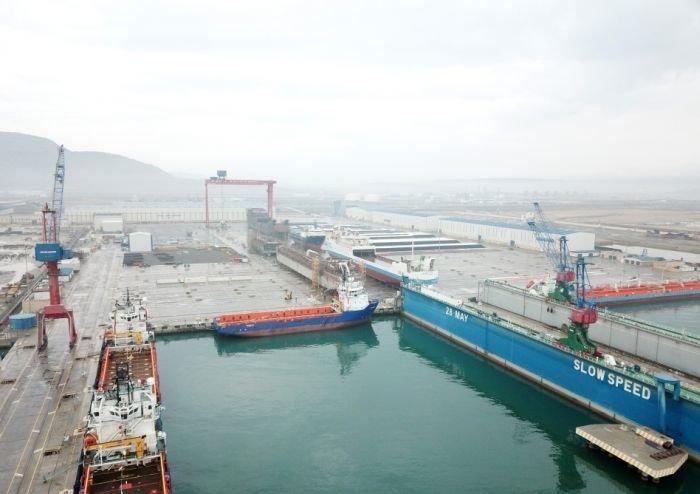 Bakı gəmiqayırma zavodunda inşa olunmuş ilk tanker istismara verildi - FOTO, fotoşəkil-14