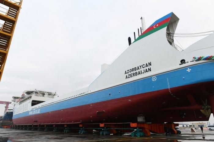 Bakı gəmiqayırma zavodunda inşa olunmuş ilk tanker istismara verildi - FOTO, fotoşəkil-12