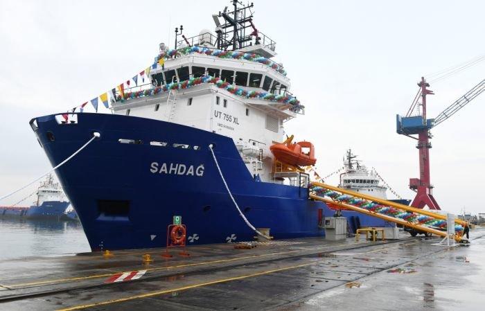 Bakı gəmiqayırma zavodunda inşa olunmuş ilk tanker istismara verildi - FOTO, fotoşəkil-11