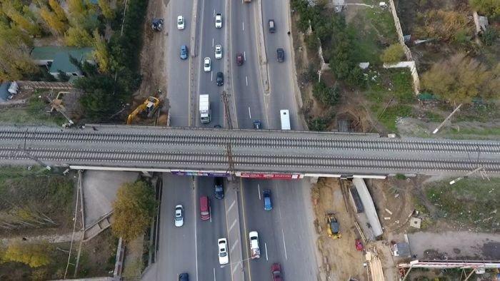Bakı-Sumqayıt yolunun genişləndirilməsinə başlanıldı - FOTO, fotoşəkil-1