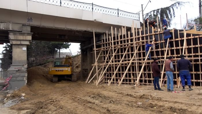 Bakı-Sumqayıt yolunun genişləndirilməsinə başlanıldı - FOTO, fotoşəkil-2