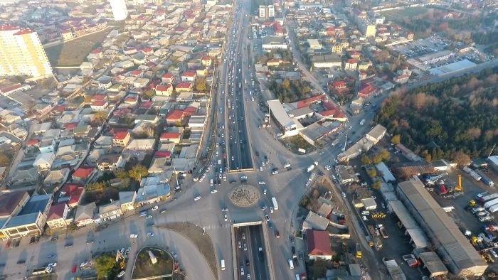 Bakı-Sumqayıt yolunun genişləndirilməsinə başlanıldı - FOTO, fotoşəkil-3