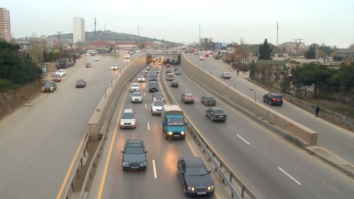 Bakı-Sumqayıt yolunun genişləndirilməsinə başlanıldı - FOTO, fotoşəkil-4