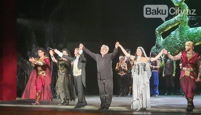 """""""Sankt-Peterburq Opera"""" Teatrı Bakı səhnəsində """"mirvari axtardı"""" - FOTO, fotoşəkil-16"""