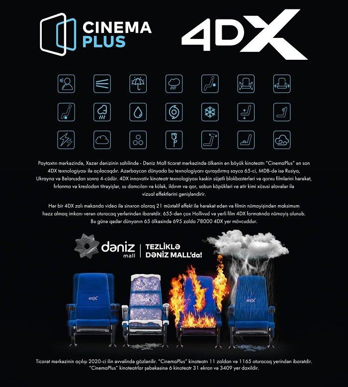 Bakıda ilk dəfə 4DX texnologiyasında filmlər nümayiş olunacaq - FOTO + VİDEO, fotoşəkil-2