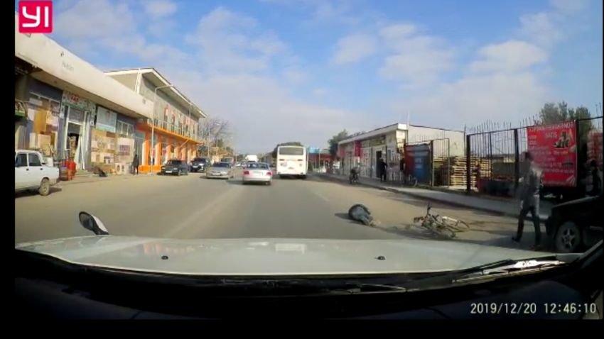 Maştağada velosipedçini vurub öldürən avtobus sürücüsü saxlanıldı - FOTO, fotoşəkil-1