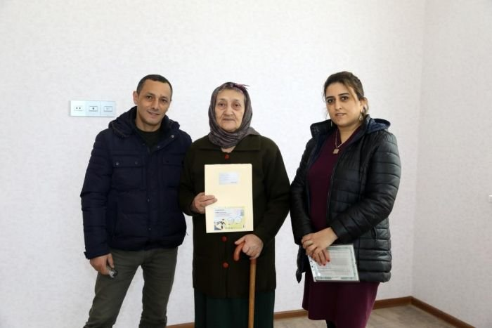 Şəhid ailələri və müharibə əlillərinə daha 36 mənzil verildi - FOTO, fotoşəkil-5
