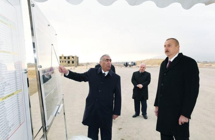 İlham Əliyev yeni Bakı-Quba yolunun tikintisi ilə tanış olub - FOTO, fotoşəkil-2