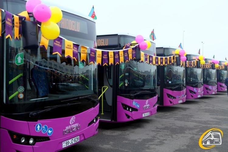 Bakıya yeni avtobuslar gətirilib - FOTO, fotoşəkil-1