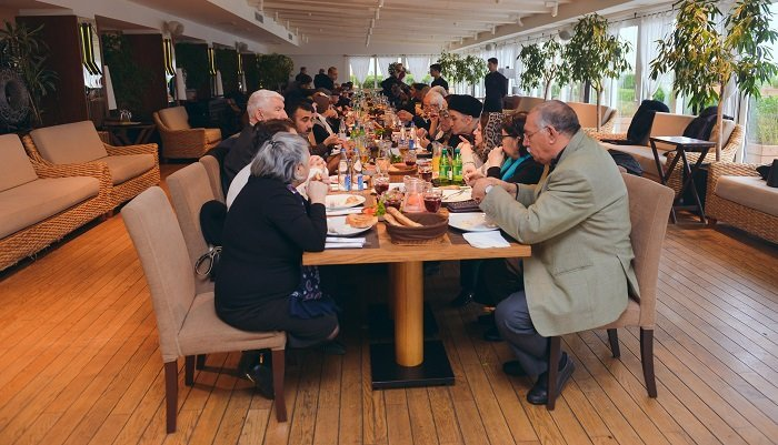 """""""Sea Breeze Resort""""dan qocalar evinin sakinləri üçün Yeni il möcüzəsi - FOTO, fotoşəkil-10"""