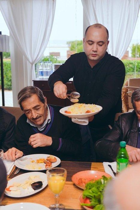 """""""Sea Breeze Resort""""dan qocalar evinin sakinləri üçün Yeni il möcüzəsi - FOTO, fotoşəkil-19"""
