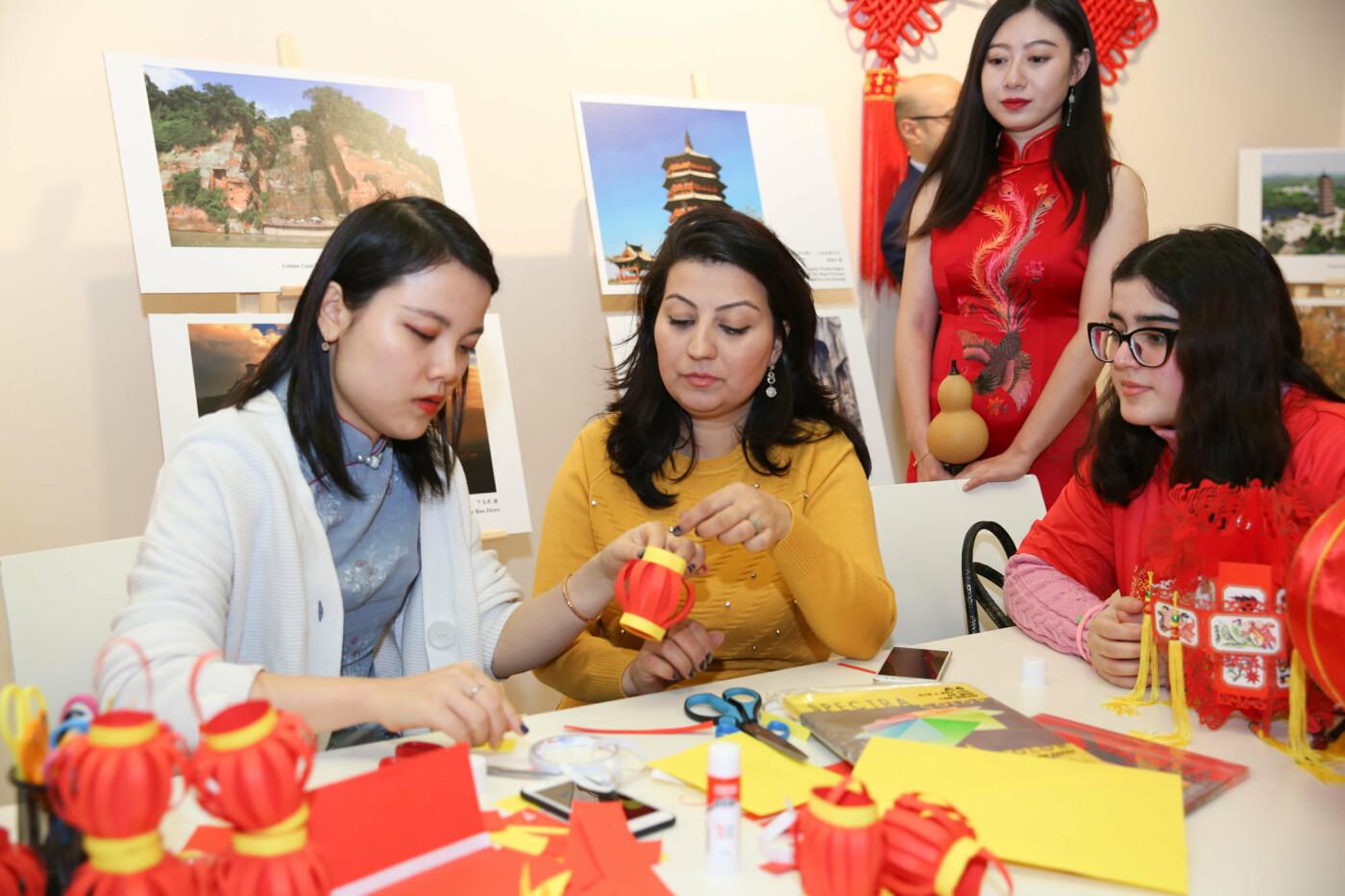 Bakıda Çin Yeni ili keçirildi - FOTO, fotoşəkil-5