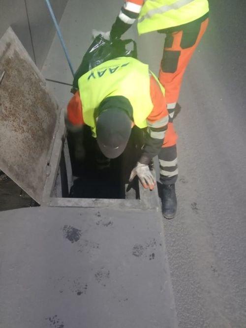 Bakının tunel və keçidlərdə təmizlik işləri - FOTO, fotoşəkil-22