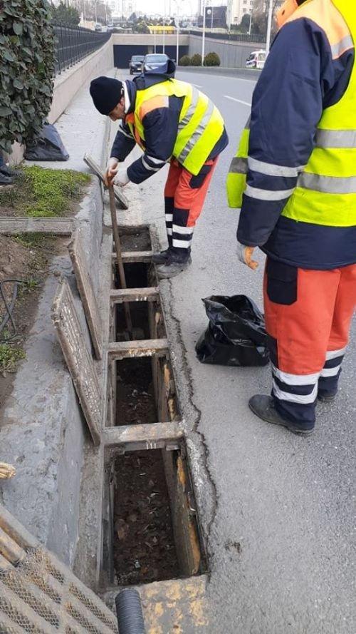 Bakının tunel və keçidlərdə təmizlik işləri - FOTO, fotoşəkil-16
