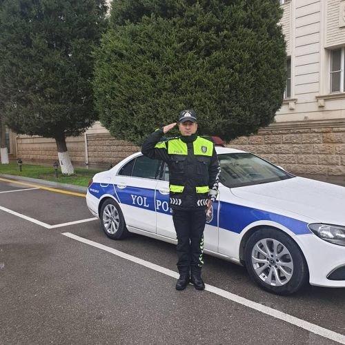 Vilayət Eyvazov yol polisinin yeni forması ilə bağlı sıra baxışı keçirib - FOTO, fotoşəkil-1
