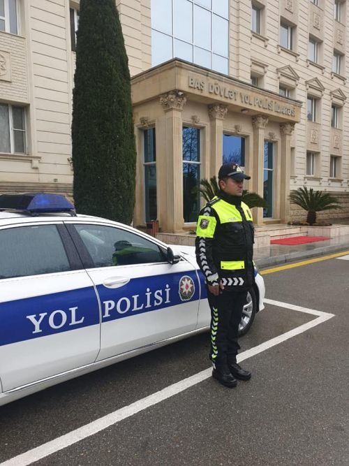 Vilayət Eyvazov yol polisinin yeni forması ilə bağlı sıra baxışı keçirib - FOTO, fotoşəkil-2