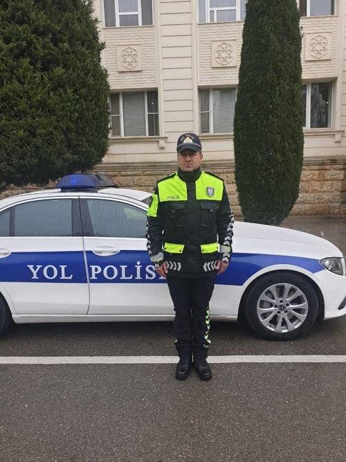 Vilayət Eyvazov yol polisinin yeni forması ilə bağlı sıra baxışı keçirib - FOTO, fotoşəkil-3
