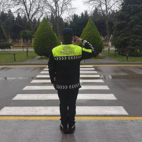 Vilayət Eyvazov yol polisinin yeni forması ilə bağlı sıra baxışı keçirib - FOTO, fotoşəkil-5