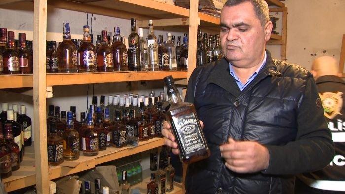 Bakıda saxta spirtli içki hazırlayıb satanlar həbs edildi - FOTO + VİDEO, fotoşəkil-8
