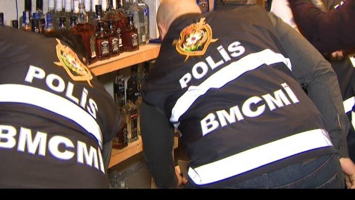 Bakıda saxta spirtli içki hazırlayıb satanlar həbs edildi - FOTO + VİDEO, fotoşəkil-9