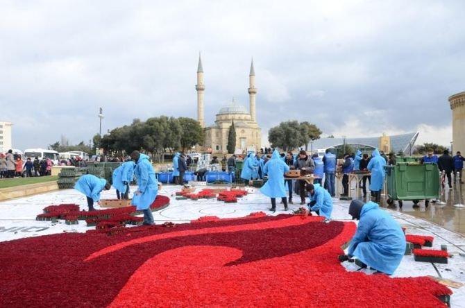 Şəhidlər xiyabanında 20 Yanvar faciəsinin ildönümünə hazırlıq gedir - FOTO, fotoşəkil-4