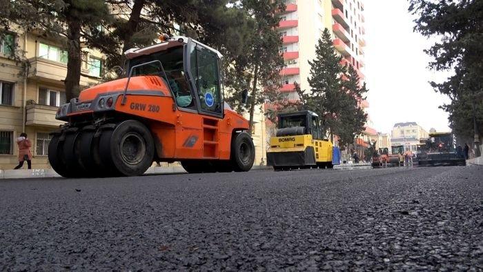 Xırdalanın əsas yolunun təmirinə başlandı - FOTO, fotoşəkil-11