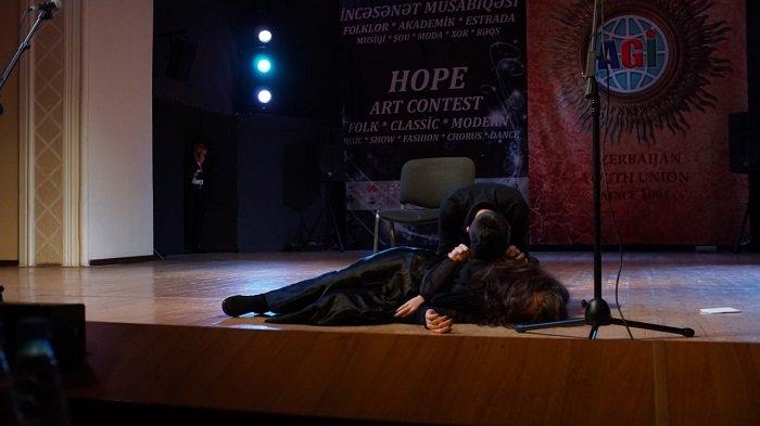 """Bakıda keçirilən """"Ümid Beynəlxalq İncəsənət Müsabiqəsi""""nin qalibləri açıqlandı – FOTO, fotoşəkil-38"""