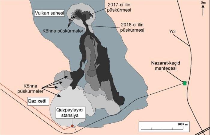 Bakıda palçıq vulkanı qazpaylayıcı stansiya üçün təhlükə yaradır - FOTO, fotoşəkil-2