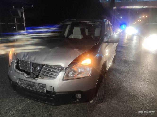 Bakıda 4 avtomobil toqquşdu, tıxac yarandı - FOTO + VİDEO, fotoşəkil-1