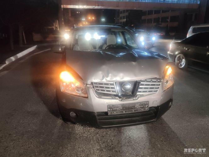 Bakıda 4 avtomobil toqquşdu, tıxac yarandı - FOTO + VİDEO, fotoşəkil-3