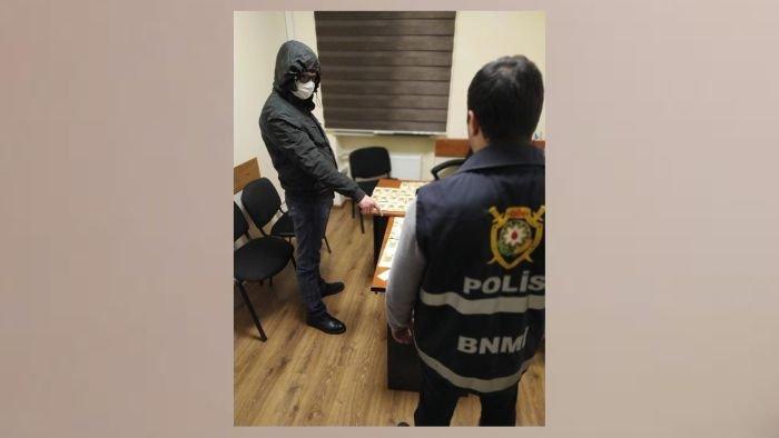 Bakıda onlayn yolla narkotik satan şəxslər ələ keçdi - FOTO, fotoşəkil-5
