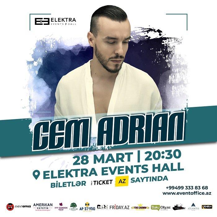 Cem Adrian Bakıda konsert verəcək - FOTO + VİDEO, fotoşəkil-1