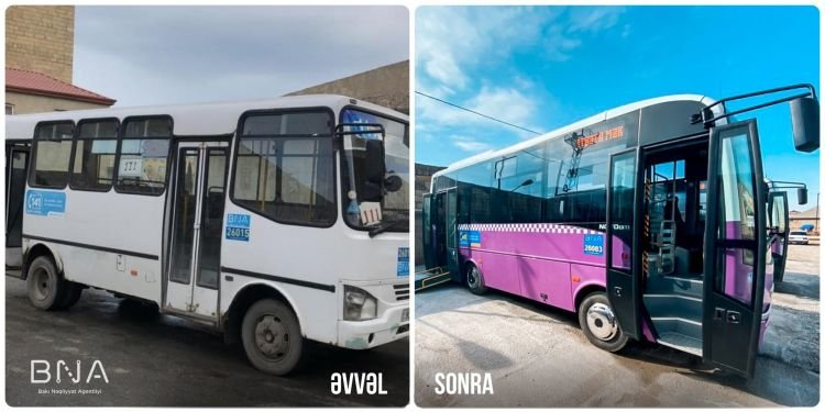 Bakıda daha bir marşrut üzrə avtobuslar yeniləndi - FOTO, fotoşəkil-1