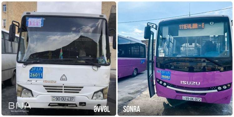 Bakıda daha bir marşrut üzrə avtobuslar yeniləndi - FOTO, fotoşəkil-2
