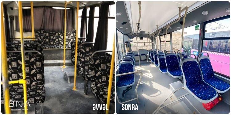 Bakıda daha bir marşrut üzrə avtobuslar yeniləndi - FOTO, fotoşəkil-3