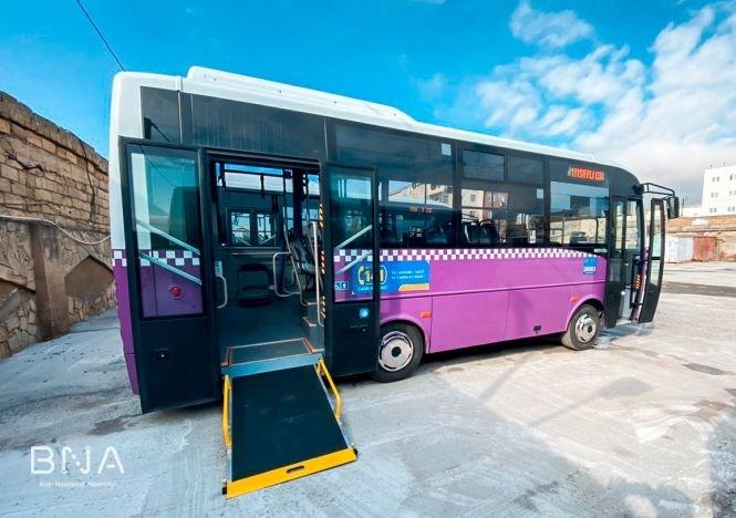 Bakıda daha bir marşrut üzrə avtobuslar yeniləndi - FOTO, fotoşəkil-4