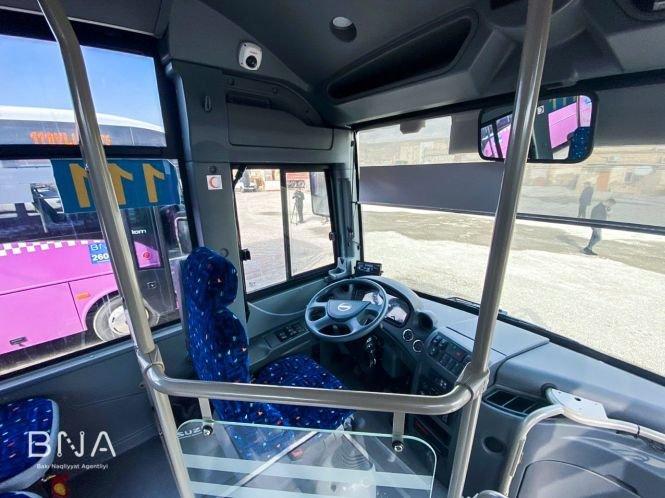 Bakıda daha bir marşrut üzrə avtobuslar yeniləndi - FOTO, fotoşəkil-5