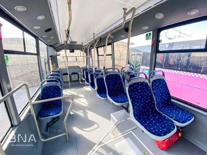 Bakıda daha bir marşrut üzrə avtobuslar yeniləndi - FOTO, fotoşəkil-6
