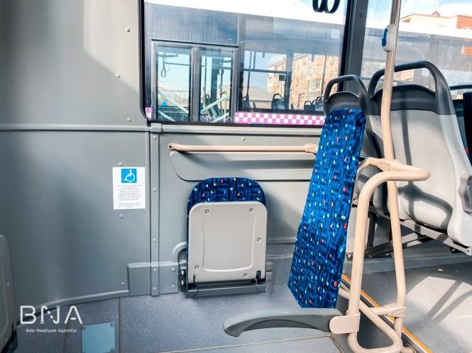 Bakıda daha bir marşrut üzrə avtobuslar yeniləndi - FOTO, fotoşəkil-7