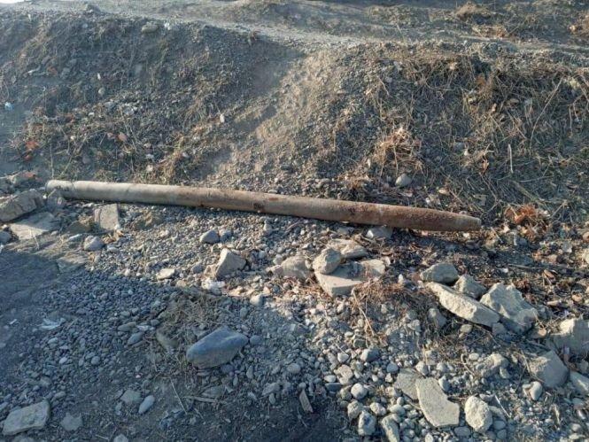Bakı-Qazax yolunda raket tapıldı - FOTO, fotoşəkil-3