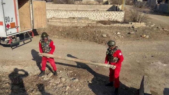 Bakı-Qazax yolunda raket tapıldı - FOTO, fotoşəkil-4