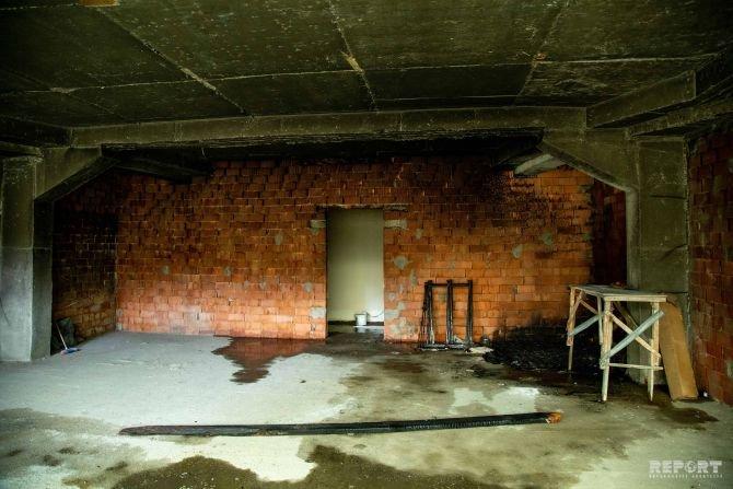 Bakıda uşaq bağçasının yerləşdiyi binada yanğın - FOTO, fotoşəkil-1