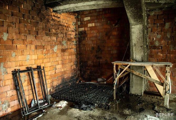 Bakıda uşaq bağçasının yerləşdiyi binada yanğın - FOTO, fotoşəkil-4