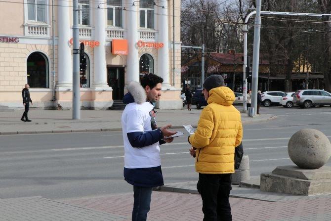 """Moldovada """"Xocalıya ədalət"""" şüarı altında yürüş - FOTO, fotoşəkil-1"""